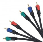 Kabel 3RCA - 3RCA component 1.8m BASIC EDITION CABLETECH
