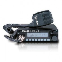 CB Radio SUNKER Elite - Five | ASQ | ANL filtr | RF-Gain | Dual Watch | Scan | LCD display |